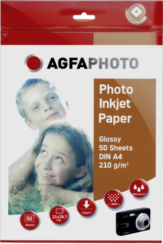AgfaPhoto Photo Glossy Paper A4 210g (50 sheets)