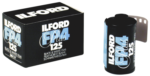 Ilford FP-4 Plus 125 135/36