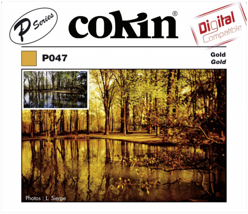 Cokin P047 Gold Color Effect Resin Filter