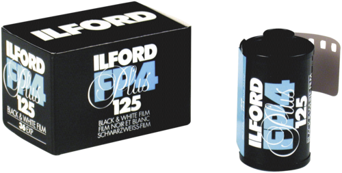 Ilford FP-4 Plus 125 135/36 1x50