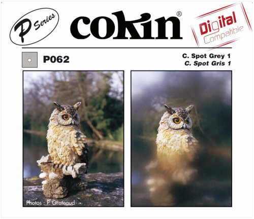 Cokin P062 Gray 1 Center Spot Resin Filter