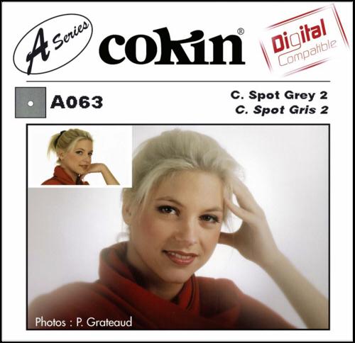 Cokin A063 Gray 2 Center Spot Resin Filter