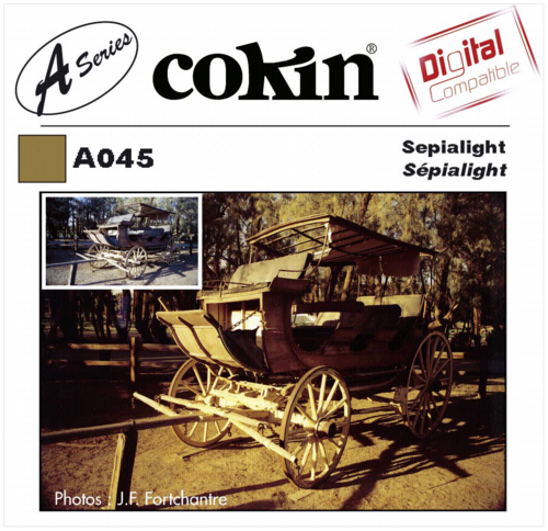 Cokin A045 Sepia Special Color Effect Resin Filter