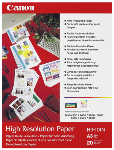 Canon HR-101N High Resolution A3 106gr (20 sheets)