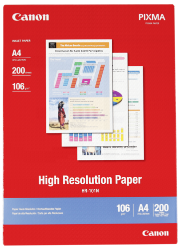 Canon HR-101N High Resolution A4 106gr (200 sheets)