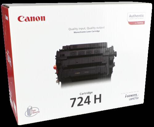 Canon Toner Cartridge 724HBK Black