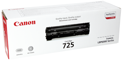 Canon Toner Cartridge 725BK Black