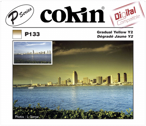 Cokin P133 Graduated Y2 Yellow Resin Filter