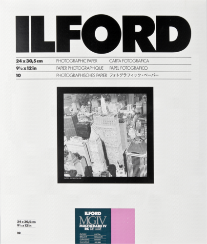Ilford MG IV RC 1M Glossy 24x30cm (10 sheets)