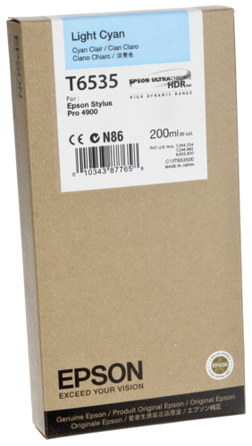 Epson Cartridge T6535 Light Cyan