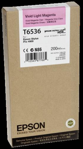 Epson Cartridge T6536 Light Magenta