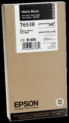 Epson Cartridge T6538 Matte Black