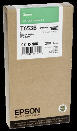 Epson Cartridge T653B Green