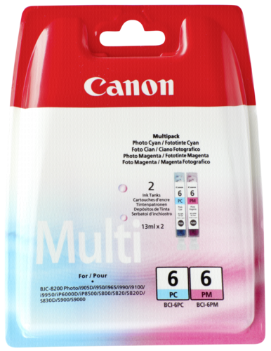 Canon BCI-6 PC/PM Multipack