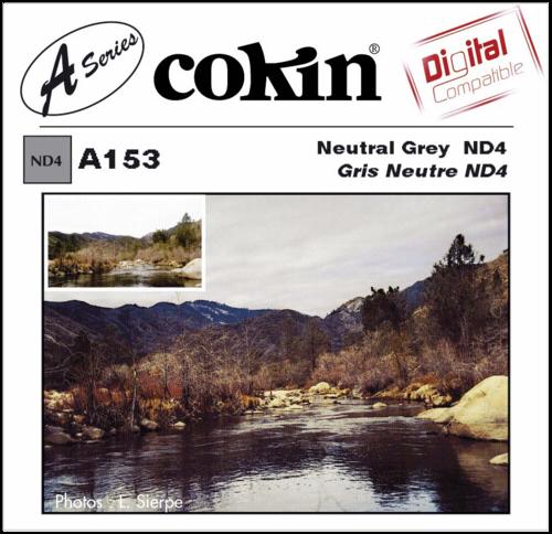 Cokin A153 Gray Neutral Density 4x Resin Filter