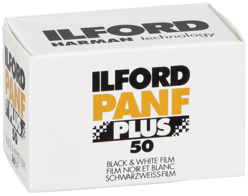 Ilford Pan F plus 50 135/36