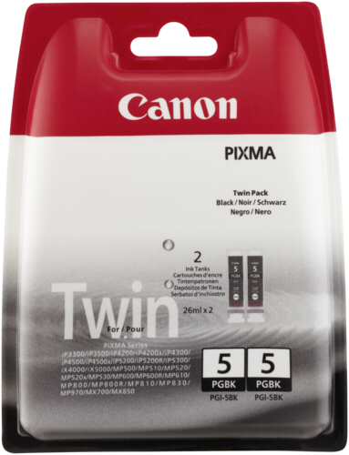 Canon PGI-5 BK Black Twin Pack