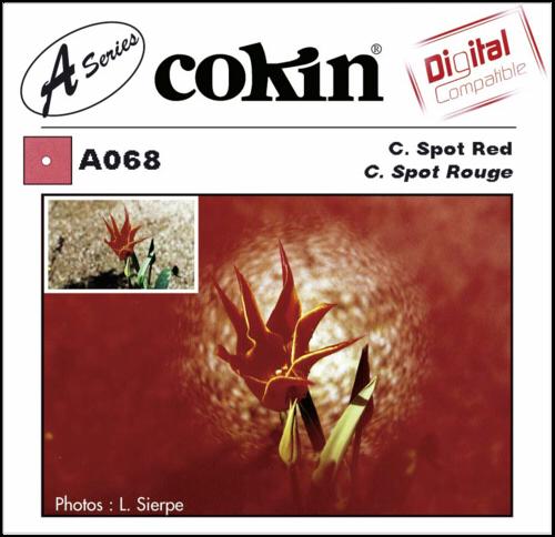 Cokin A068 Red Center Spot Filter