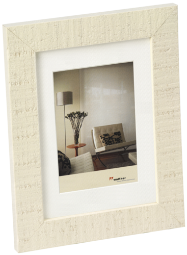 Walther Home 20x30 Wooden Frame cream/white