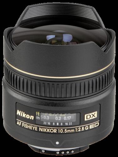 Nikon AF 10.5mm f/2.8G DX ED