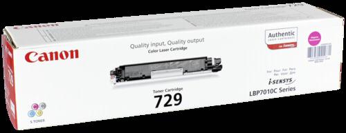 Canon Toner Cartridge 729M Magenta
