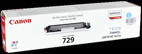 Canon Toner Cartridge 729C Cyan