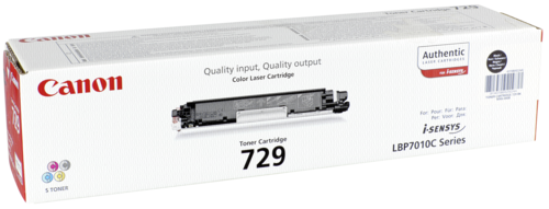 Canon Toner Cartridge 729BK Black