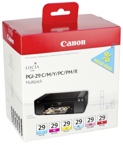 Canon PGI-29 C/M/Y/PC/PM/R Multipack