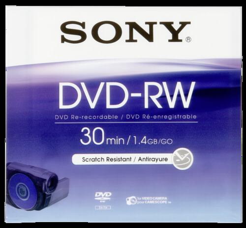Sony Mini DVD-RW 1.4GB 8cm 30min