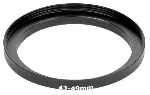 DigiCap Adapter Ring Lens 43mm/Filter 49mm
