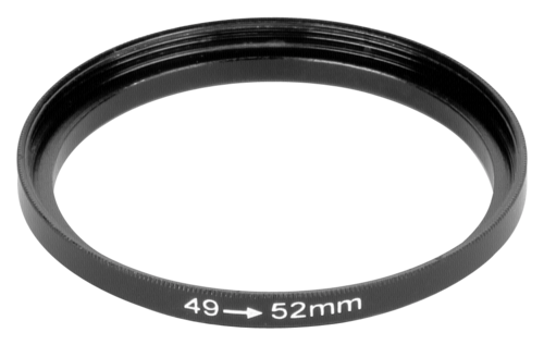 DigiCAP Step Up Adapter 52mm Filter to 49mm Lens