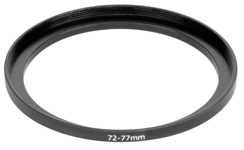 DigiCap Set Up Adapter 77 mm Filter to 72 mm Lens