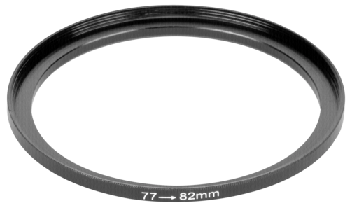 DigiCap Set Up Adapter 82mm Filter to 77mm Lens
