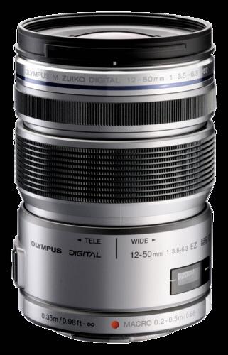 Olympus M.Zuiko ED 12-50mm f/3.5-6.3 EZ Silver