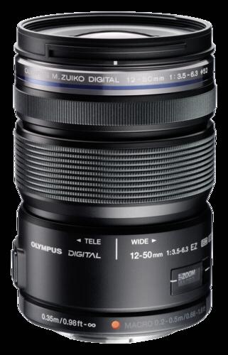 Olympus M.Zuiko ED 12-50mm f/3.5-6.3 EZ Black