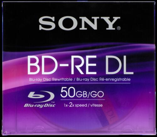 Sony Blu-Ray BD-RE 50GB 1-2x speed