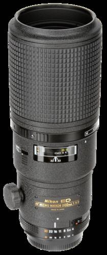 Nikon AF 200mm f/4D IF ED Micro
