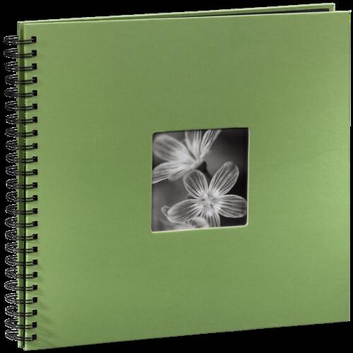 Hama Fine Art Spiral Green 36x32 - 50 black pages