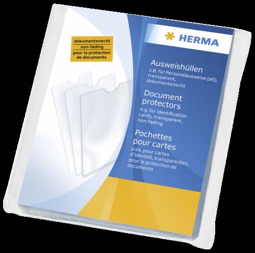 Herma Document Protectors 58x87 5013 1x25