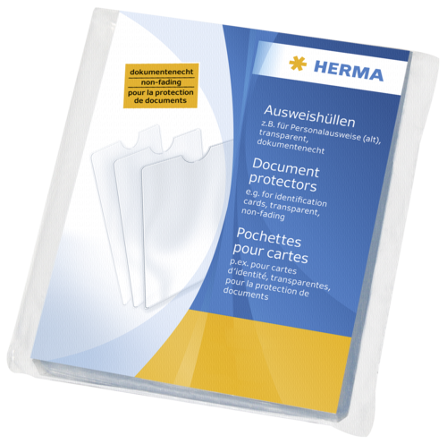 Herma Document Protectors 65x100 5014 1x25