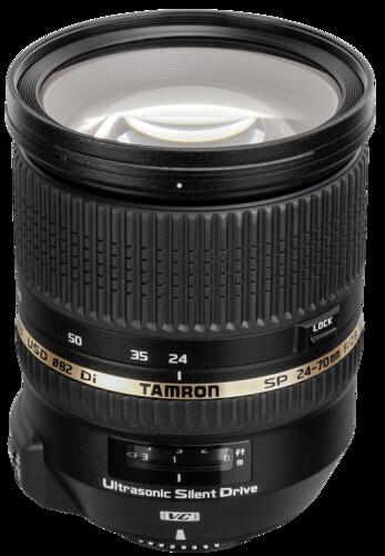 Tamron SP AF 24-70mm f/2.8 DI VC Canon