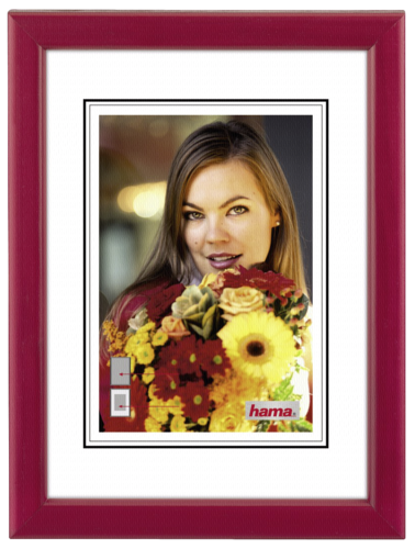 Hama Bella red 30x40 wooden frame 31667