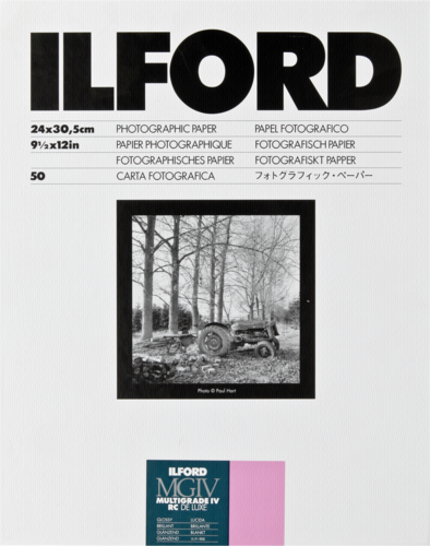 Ilford MG IV RC 1M Glossy 24x30cm (50 sheets)