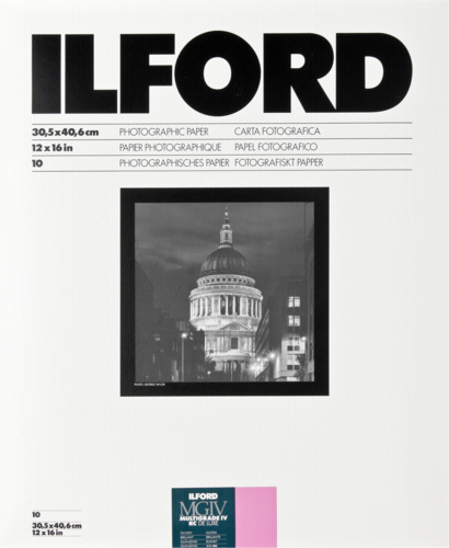 Ilford MG IV RC 1M Glossy 30x40cm (10 sheets)