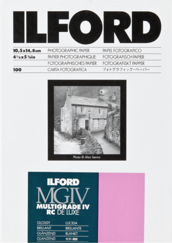 Ilford MG IV RC 1M Glossy 10x15cm (100 sheets)