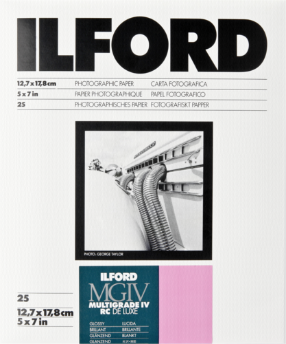 Ilford MG IV RC 1M Glossy 13x18cm (25 sheets)