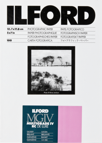 Ilford MG IV RC 1M Glossy 13x18cm (100 sheets)