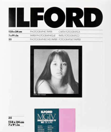 Ilford MG IV RC 1M Glossy 18x24cm (25 sheets)