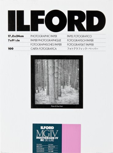 Ilford MG IV RC 1M Glossy 18x24cm (100 sheets)