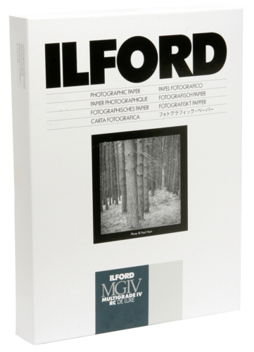 Ilford MG IV RC 44M Pearl 24x30cm (50 sheets)